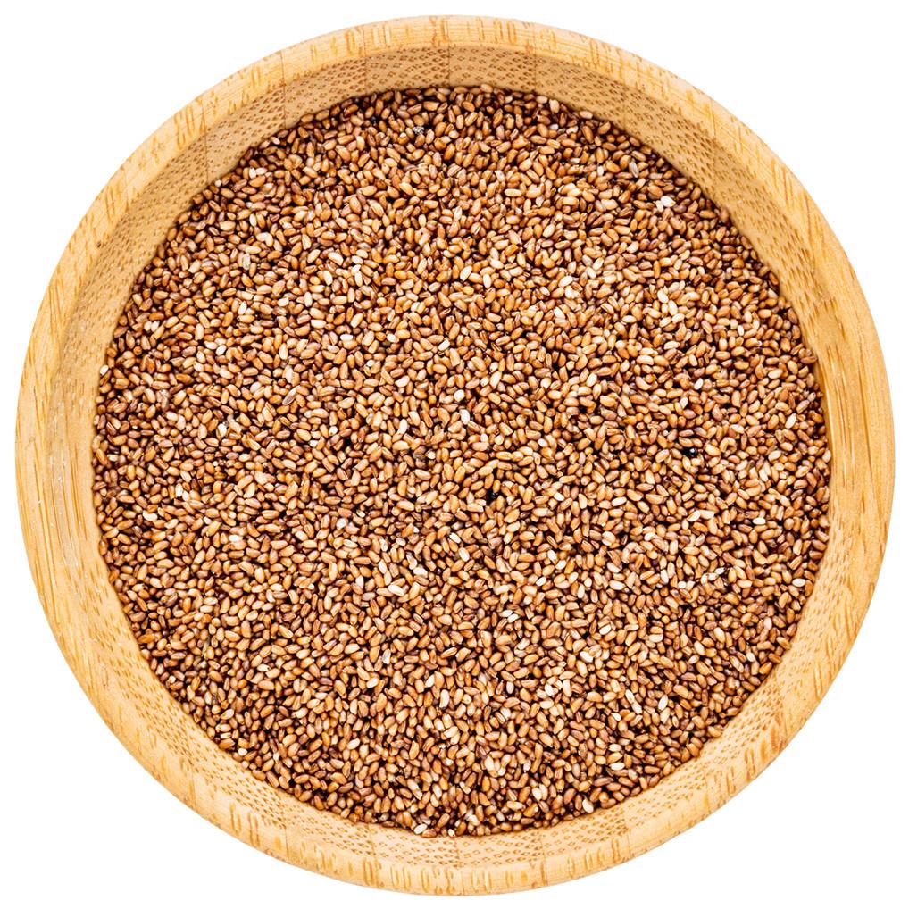 Raw teff grains