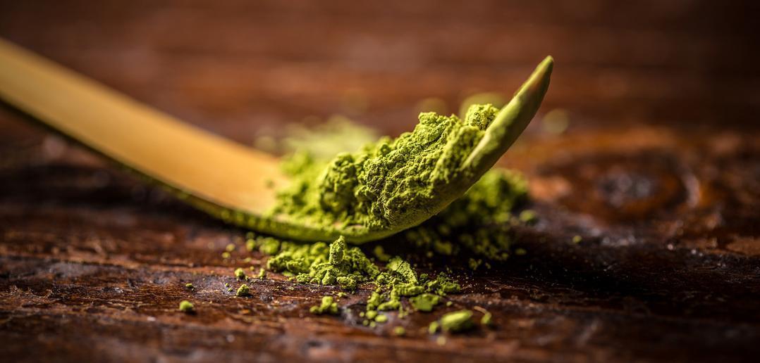 Matcha powder - an alternative to coffee.