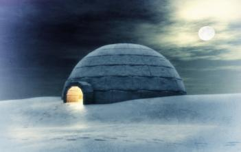 image of igloo for alternative ways to air condition home