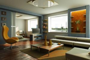 livingroom using feng shui colors