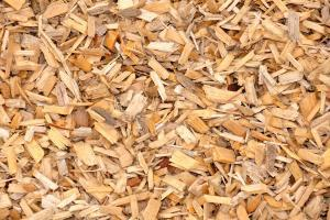 wood chips for hot water heating