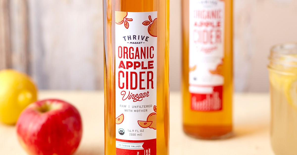 ThriveMarket's offered Apple Cider Vinegar