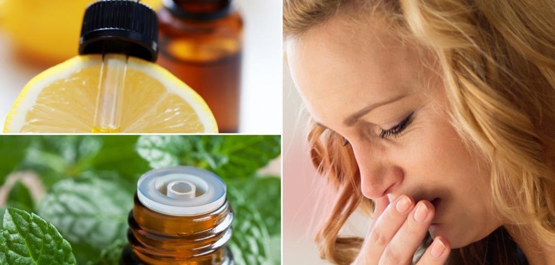 essential oils for nausea relief