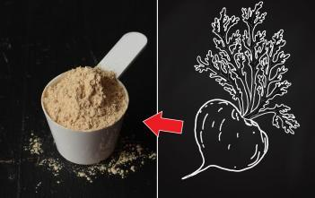 black maca + black maca powder