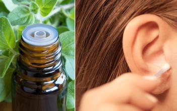 Essential oils for clogged ears